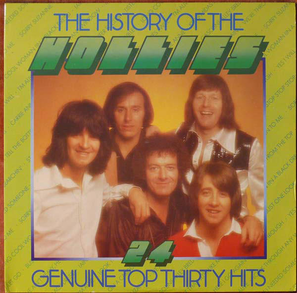 The Hollies - The History Of The Hollies - 24 Genuine Top Thirty Hits (2xLP, Comp)