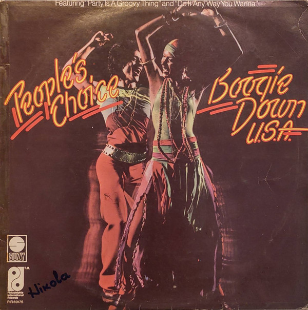 People's Choice - Boogie Down U.S.A. (LP, Album)