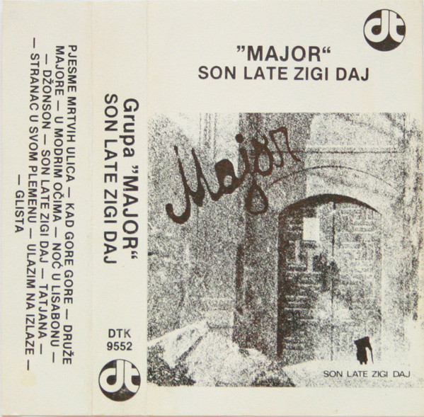Major (16) - Son Late Zigi Daj (Cass, Album)
