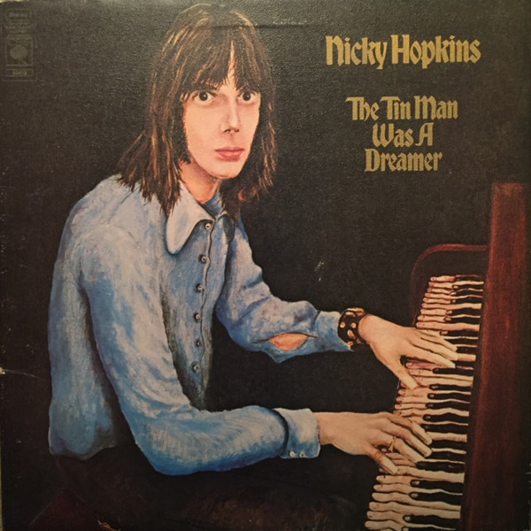 Nicky Hopkins - The Tin Man Was A Dreamer (LP, Album, Gat)