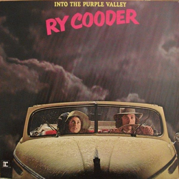 Ry Cooder - Into The Purple Valley (LP, Album, RP)