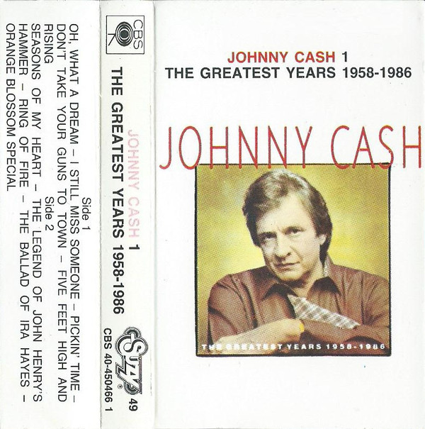 Johnny Cash - The Greatest Years 1958 - 1986 - 1 (Cass, Comp)