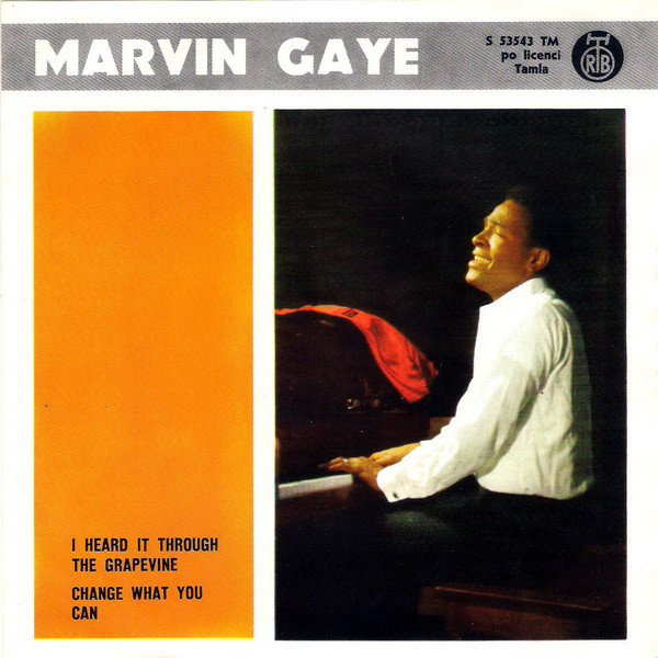 Marvin Gaye - I Heard It Through The Grapevine / Change What You Can (7