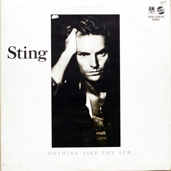 Sting - ...Nothing Like The Sun (2xLP, Album)