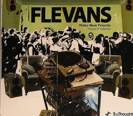 Flevans - Make New Friends - Flevans EP Collection (CD, Comp)