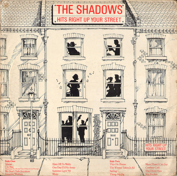 The Shadows - Hits Right Up Your Street (LP, Album)