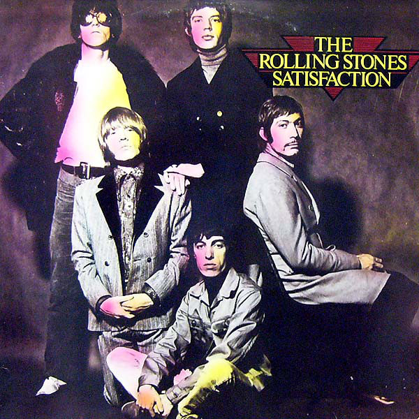 The Rolling Stones - Satisfaction (LP, Album, RE)