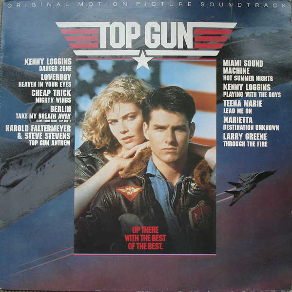Various - Top Gun (Original Motion Picture Soundtrack) (LP, Album)
