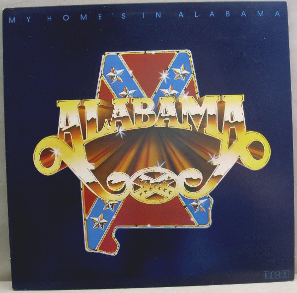 Alabama - My Home's In Alabama (LP, Album)