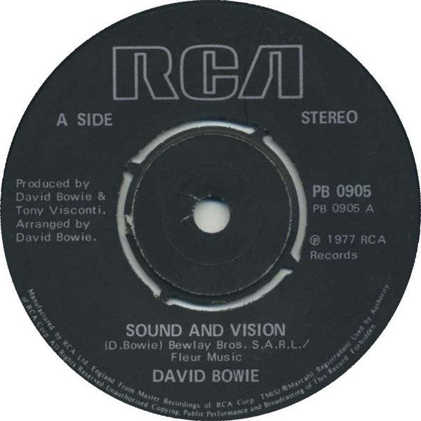 David Bowie - Sound And Vision (7