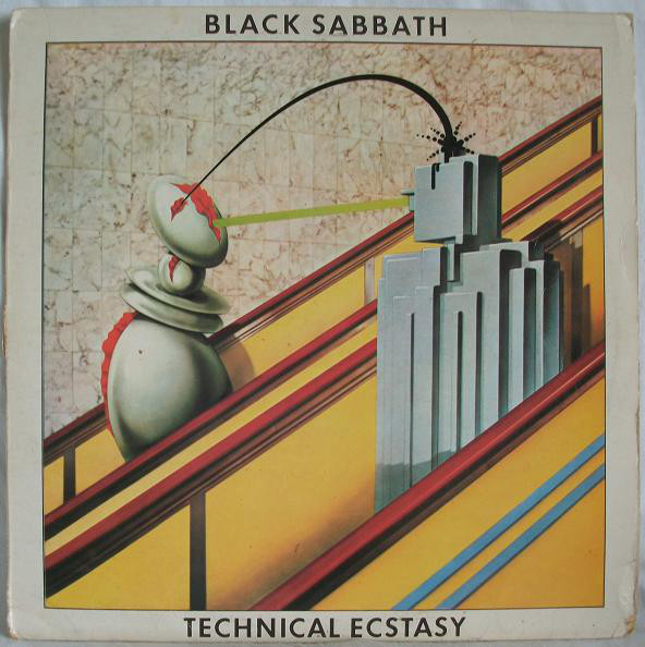 Black Sabbath - Technical Ecstasy (LP, Album)