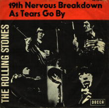 The Rolling Stones - 19th Nervous Breakdown / As Tears Go By (7