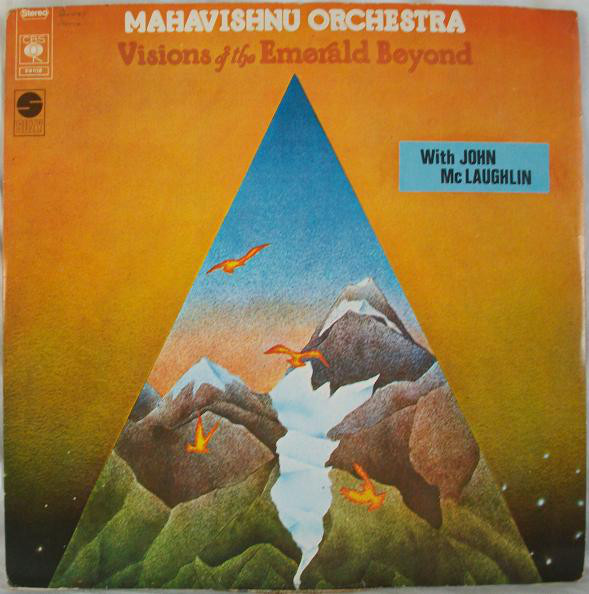 Mahavishnu Orchestra with John Mc Laughlin* - Visions Of The Emerald Beyond (LP, Album)