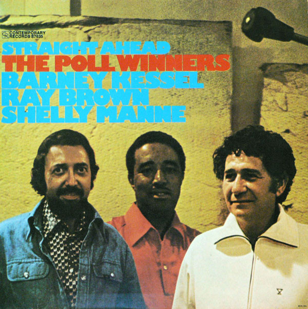 The Poll Winners - Straight Ahead (LP, Album, RE)