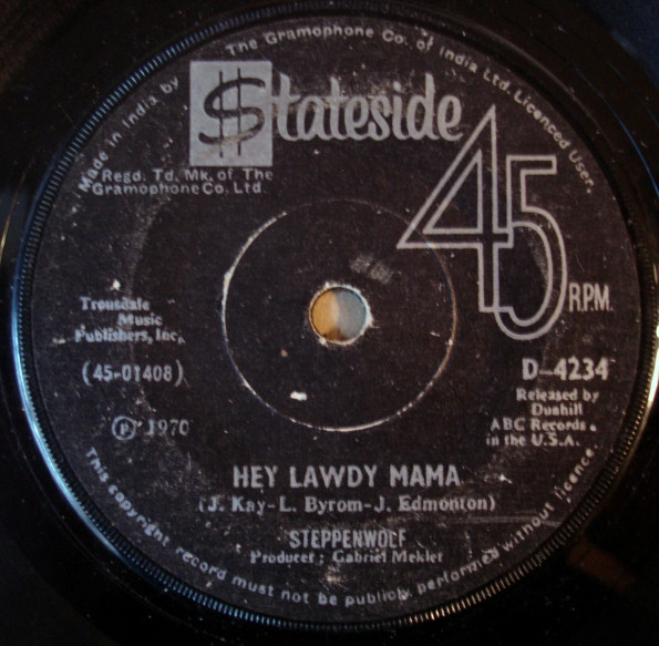 Steppenwolf - Hey Lawdy Mama  (7