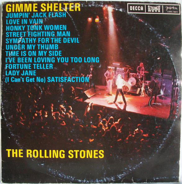 The Rolling Stones - Gimme Shelter (LP, Comp, RE)