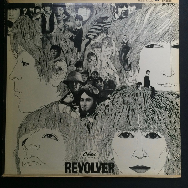 The Beatles - Revolver (LP, Album, RP)