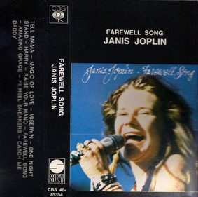 Janis Joplin - Farewell Song (Cass, Album)