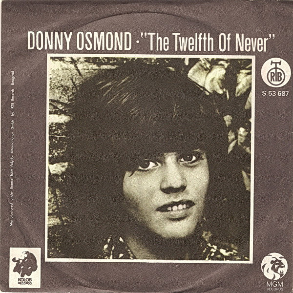 Donny Osmond - The Twelfth Of Never (7