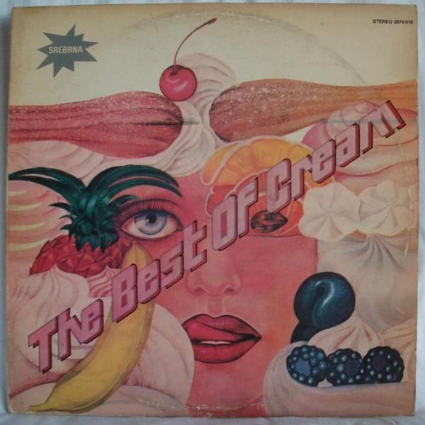 Cream (2) - The Best Of Cream (2xLP, Comp, RP)