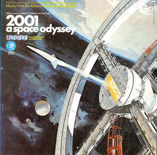 Various - 2001 - A Space Odyssey (Music From The Motion Picture Soundtrack) (LP, Album, Gat)
