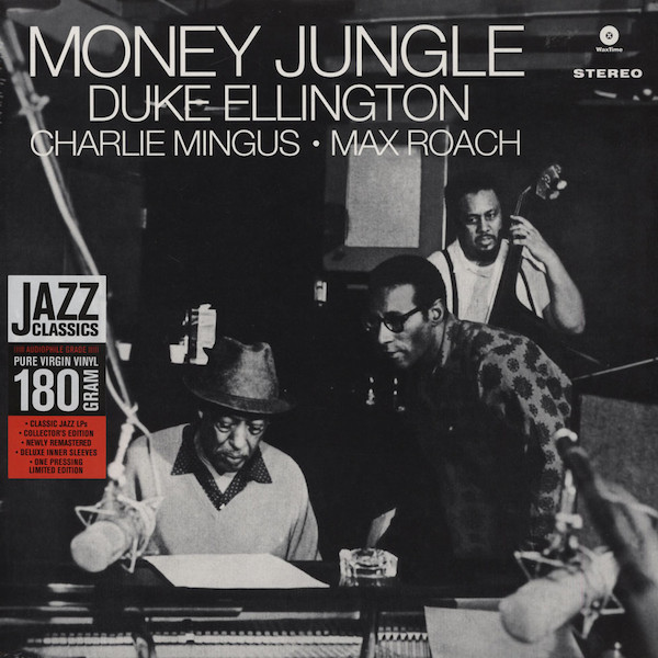 Duke Ellington • Charlie Mingus* • Max Roach - Money Jungle (LP, Album, Ltd, RE, RM, 180)