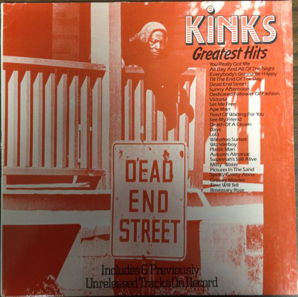 The Kinks - The Kinks Greatest Hits - Dead End Street (LP, Comp + 10