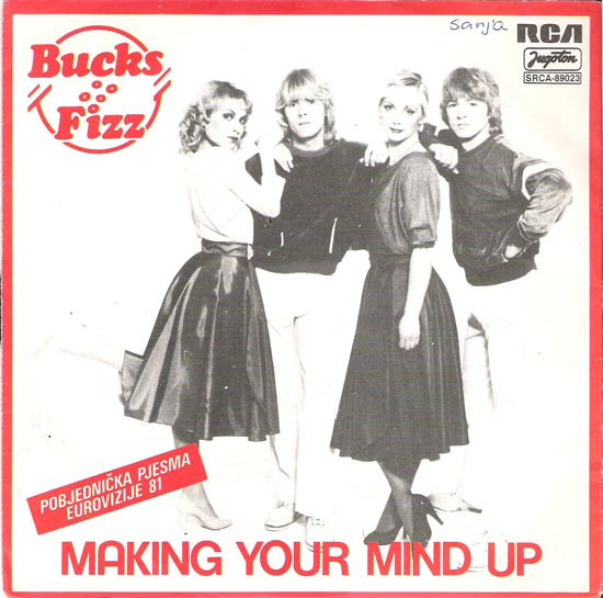Bucks Fizz - Making Your Mind Up (7