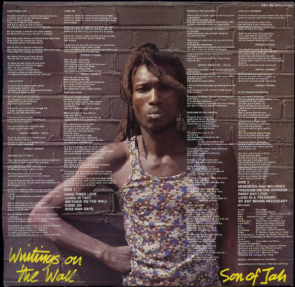 Son Of Jah - Writings On The Wall (LP, Album)