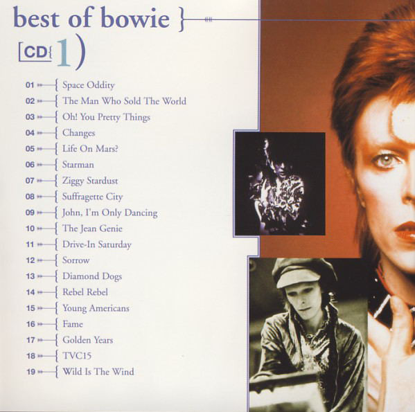 Bowie* - Best Of Bowie (2xCD, Comp, RM)