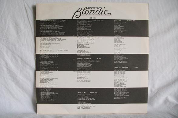 Blondie - Parallel Lines (LP, Album)