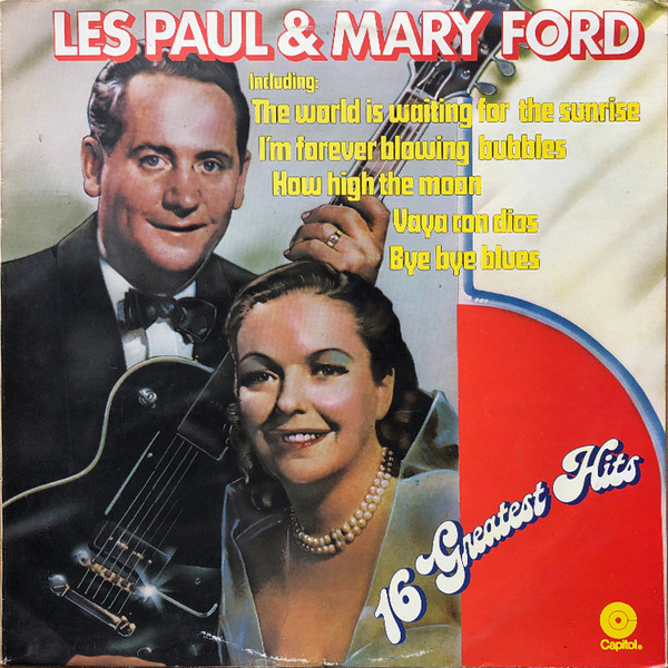 Les Paul & Mary Ford - 16 Greatest Hits (LP, Comp)