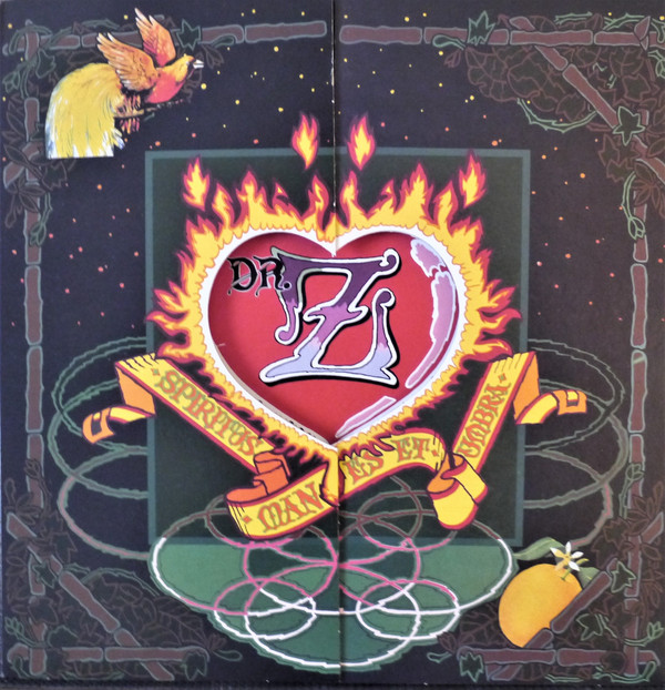Dr. Z (3) - Three Parts To My Soul (LP, Album, RE, RP, 180)