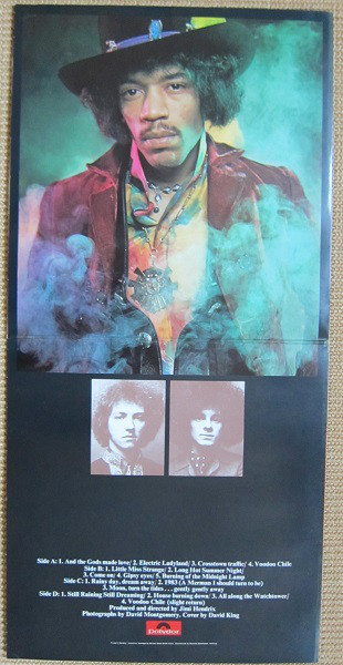 The Jimi Hendrix Experience - Electric Ladyland (2xLP, Album, RE)