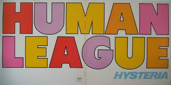 The Human League - Hysteria (LP, Album)