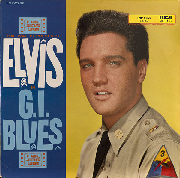 Elvis Presley - G. I. Blues (LP, Album, RP)