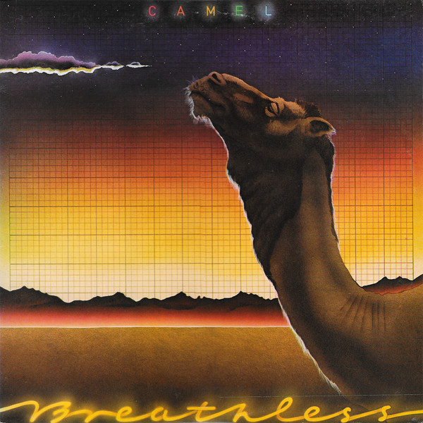 Camel - Breathless (LP, Album)
