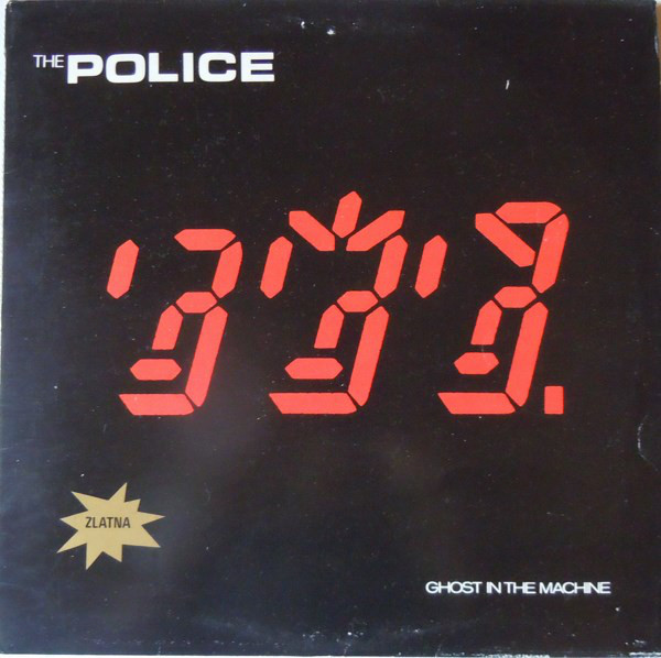 The Police - Ghost In The Machine (LP, Album)