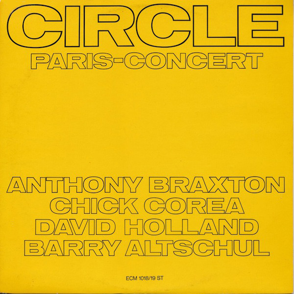 Circle (5) - Paris - Concert (2xLP, Album)