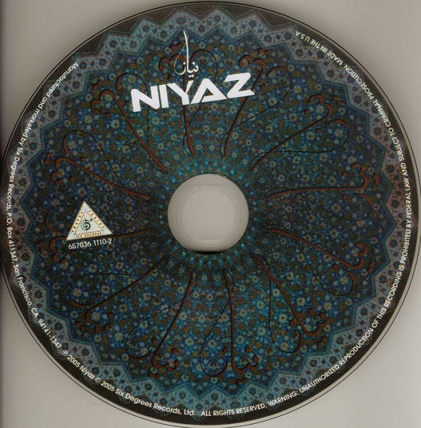 Niyaz - Niyaz (CD, Album)