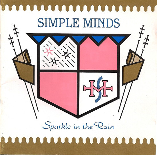 Simple Minds - Sparkle In The Rain (CD, Album, RP)