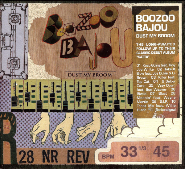 Boozoo Bajou - Dust My Broom (CD, Album)