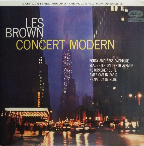 Les Brown And His Band Of Renown - Concert Modern (LP, Album)