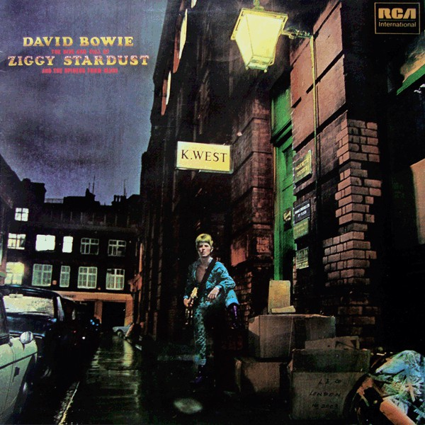 David Bowie - The Rise And Fall Of Ziggy Stardust And The Spiders From Mars (LP, Album, RE)