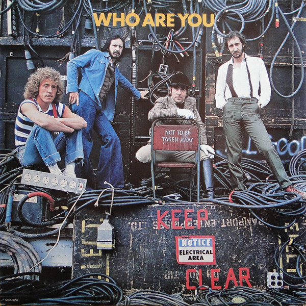 The Who - Who Are You (LP, Album, Glo)