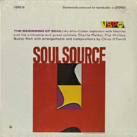 Machito And His Orchestra - Soul Source (LP, Comp, ele)