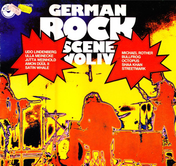 Various - German Rock Scene Vol. IV (LP, Comp)