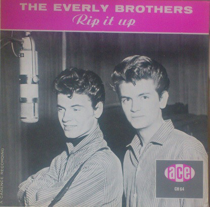 The Everly Brothers* - Rip It Up (LP, Comp, Mono)