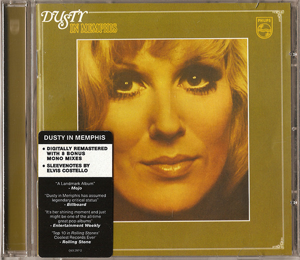 Dusty Springfield - Dusty In Memphis (CD, Album, RE, RM)