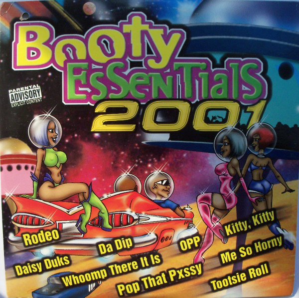 Various - Booty Essentials 2001 (2xLP, Comp)